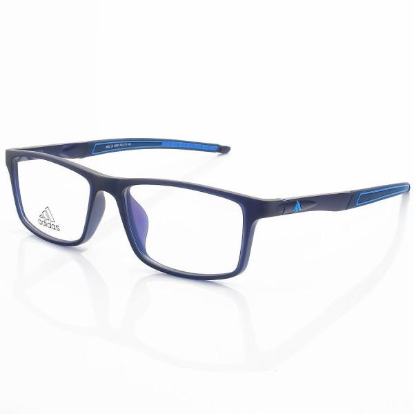 Armação de Óculos Retangular Adidas A692 Azul