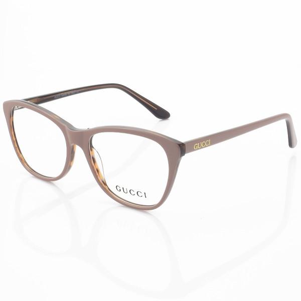 Armação de Óculos Quadrado Gucci GG3123 Nude