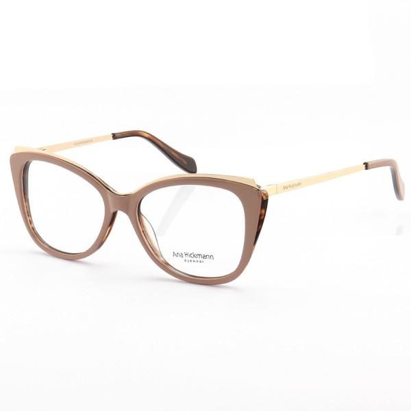 Armação de Óculos Gatinho Ana Hickmann AH6325 Nude