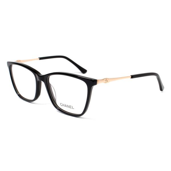 Armação de Óculos Quadrado Chanel CH6822 Preto