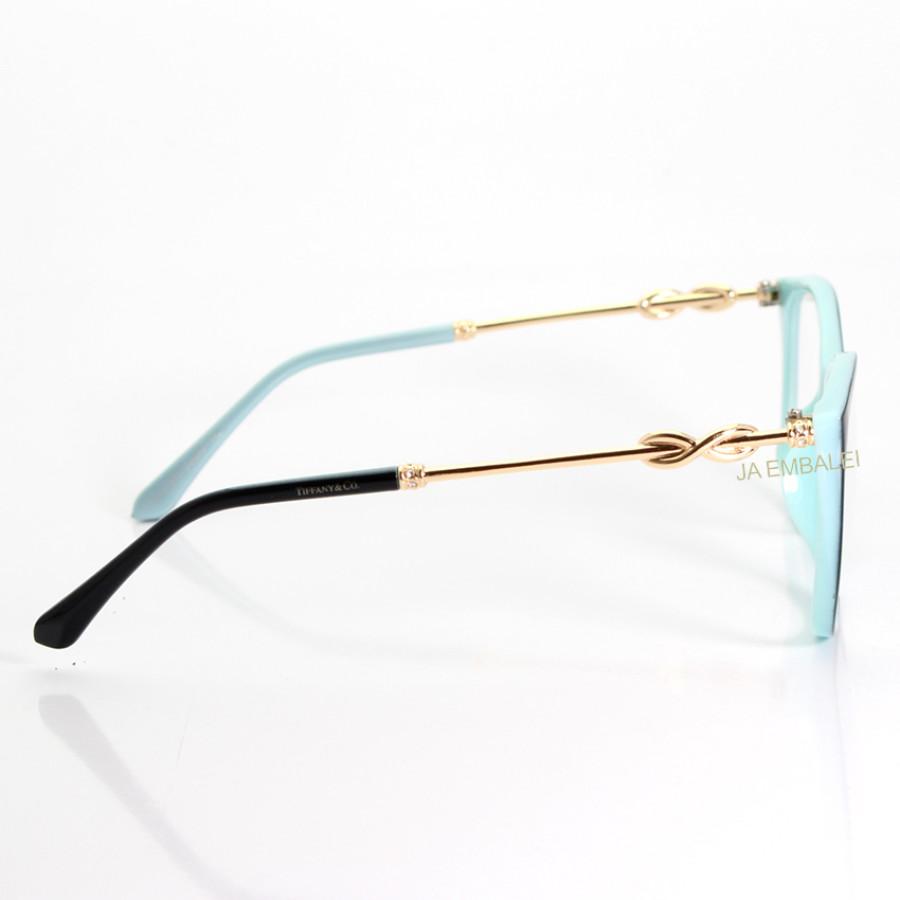 Oculos Armação de Grau - Tiffany & Co. - TF2160 - Preto e Azul