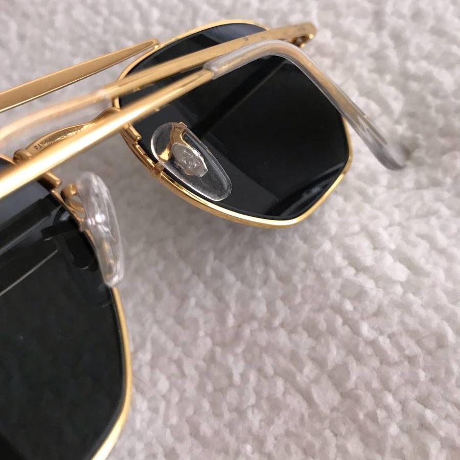 Oculos Ray-Ban Hexagonal Marshal -  Dourado e Lente G15 RB3648