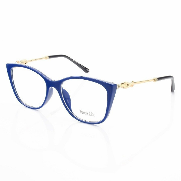 Armação de Oculos Quadrado Tiffany & Co. TF2160 Azul
