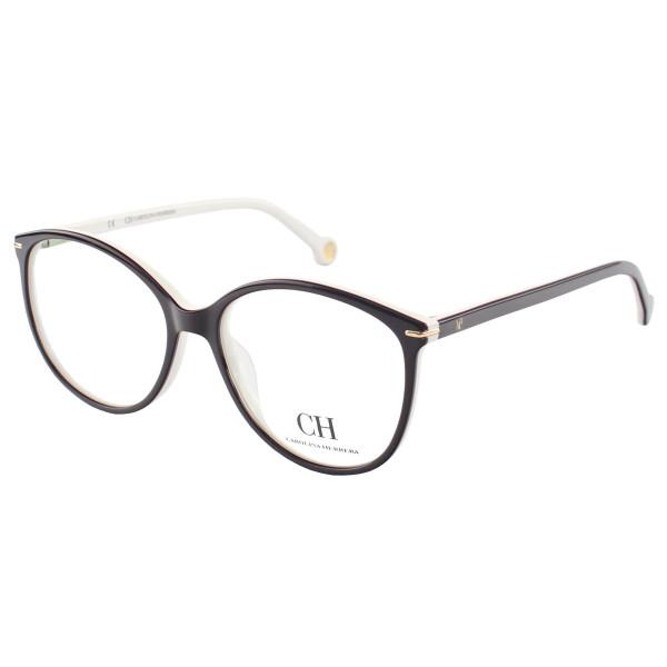 Óculos Armação de Grau - Carolina Herrera Vhe669 - Bordô e Branco