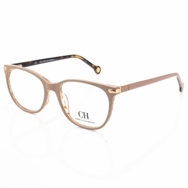 Óculos Armação de Grau - Carolina Herrera VHE652 - Nude