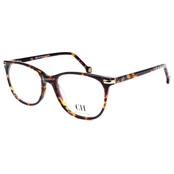 Óculos Armação de Grau - Carolina Herrera VHE652 - Marrom Tartaruga