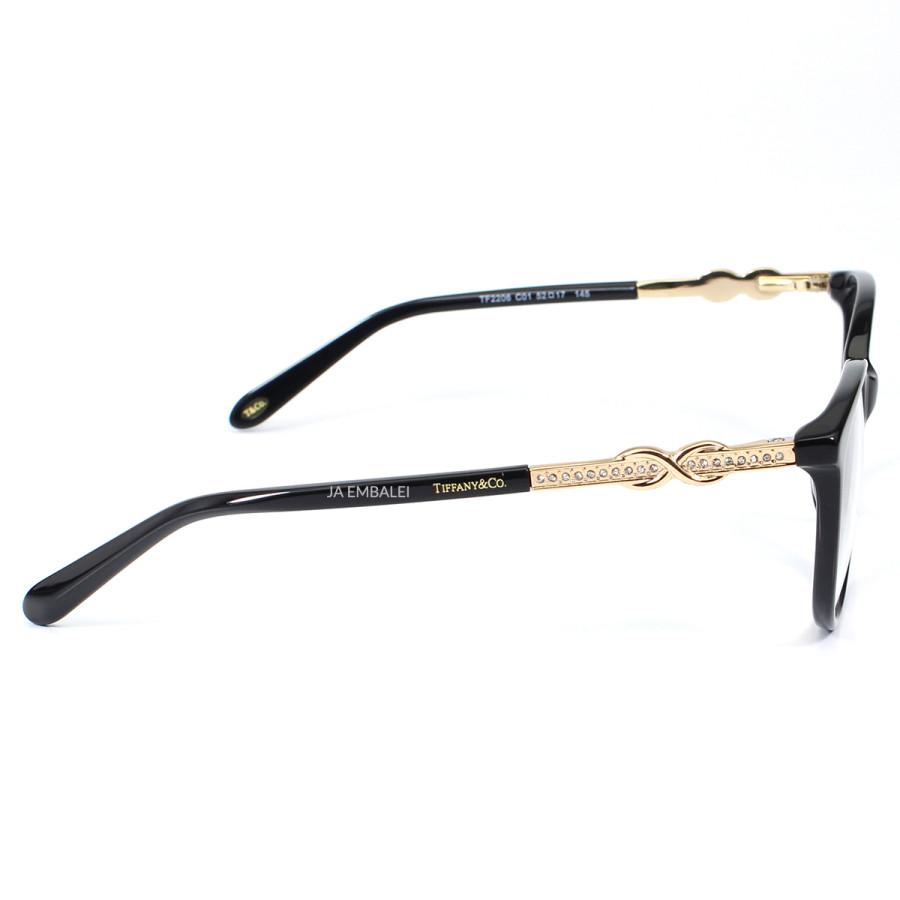 Óculos Armação de Grau Tiffany & Co Infinito TF2143-B Preto
