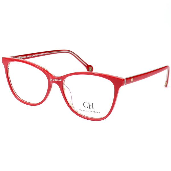 Óculos Armação de Grau - Carolina Herrera CH683 - Vermelho