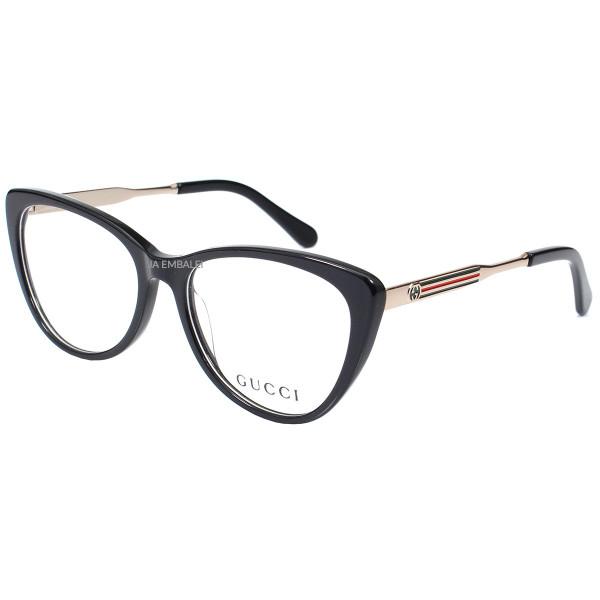 Óculos Armação de Grau - Gucci GG3126 - Preto
