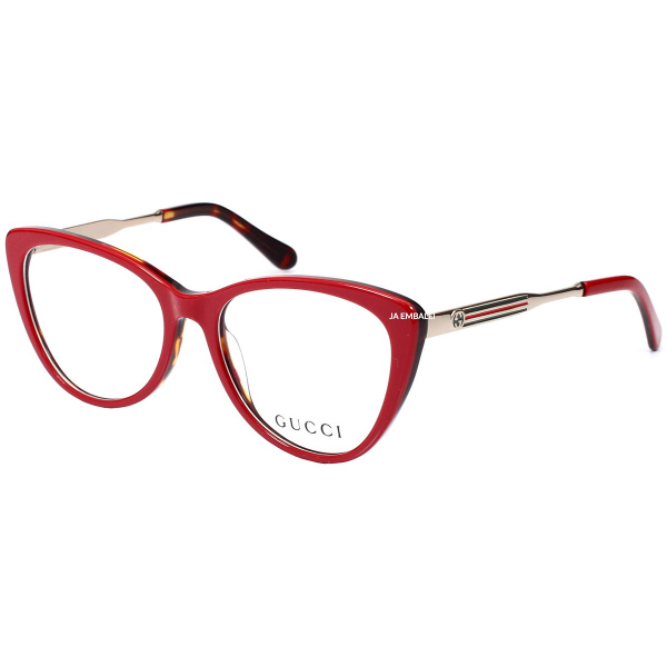 Óculos Armação de Grau - Gucci GG3126 - Vermelho