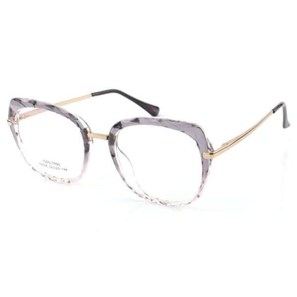 Oculos Armação Para Grau Gatinho Mila - Cinza