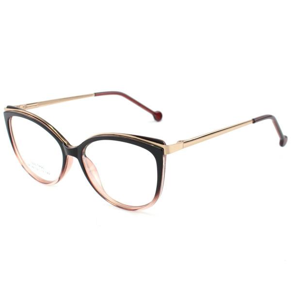 Oculos Armação Para Grau Alita - Preta Degrade