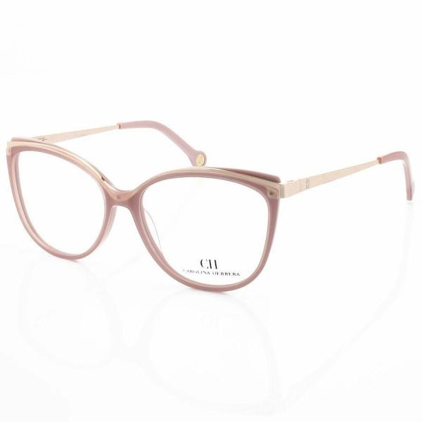 Armação de Óculos Gatinho Carolina Herrera CH3378 Alita Rose Nude