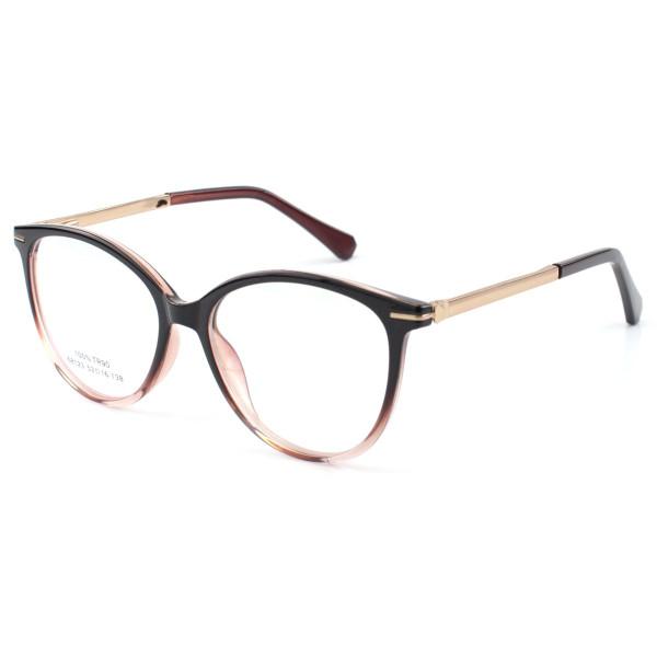 Oculos Armação Para Grau Venuch - Preta Degrade