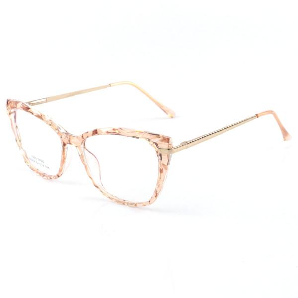 Armação de Óculos Quadrado Ohana 68258 Creme Transparente