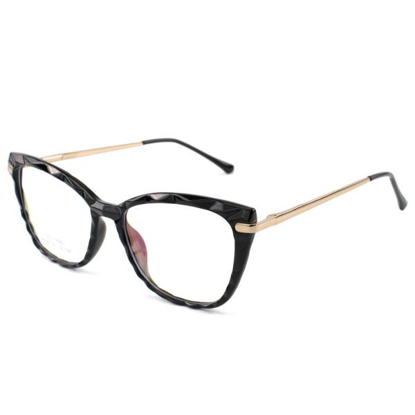 Armação de Óculos Quadrado Ohana 68258 Preto