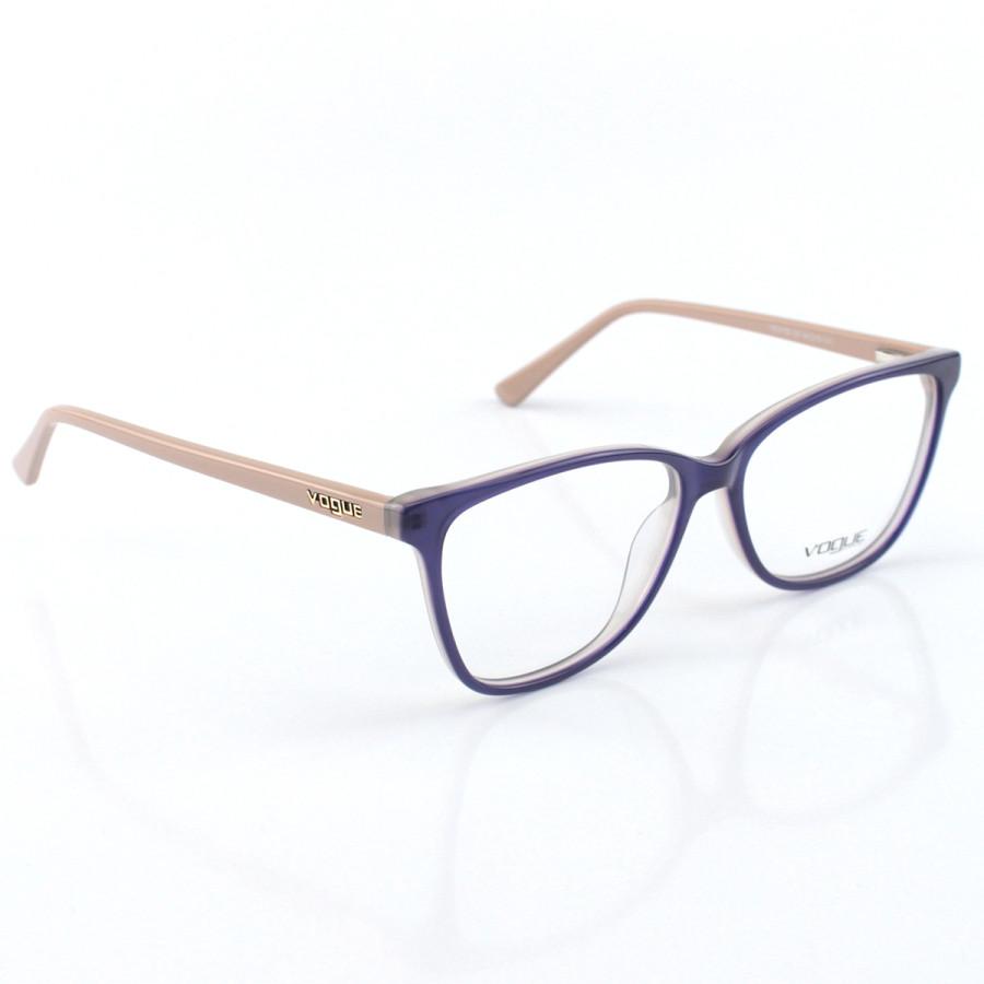 Armacao de Óculos Feminino Vogue - VO5155 Roxo e Nude