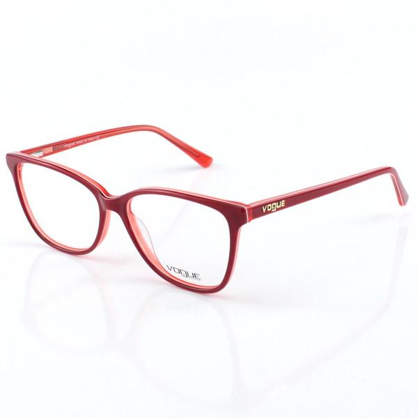 Armacao de Óculos Feminino Vogue - VO5155 Vermelho