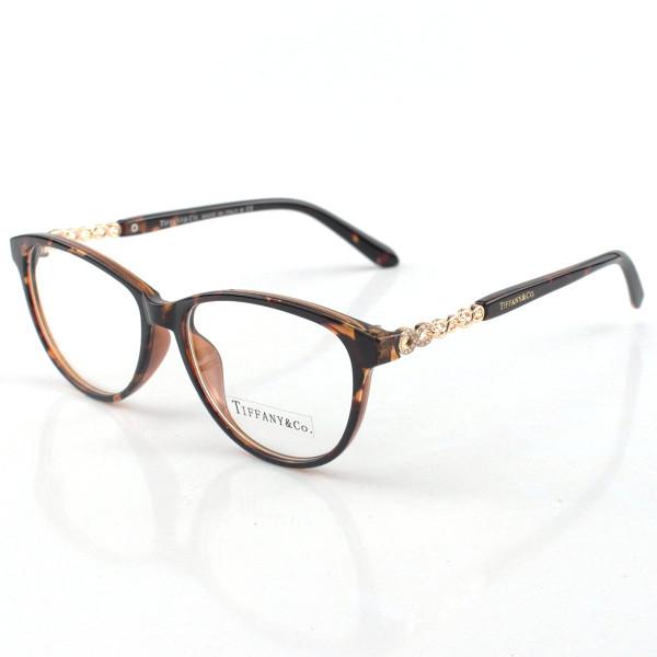 Armacao de Óculos Tiffany & Co. Infinito - TF2120 B Marrom Tartaruga