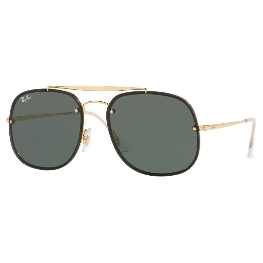 Óculos de Sol Ray Ban Blaze General RB3583N Dourado Lente Verde G15
