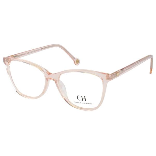 Óculos Armação de Grau - Carolina Herrera CH683 - Translucida Creme