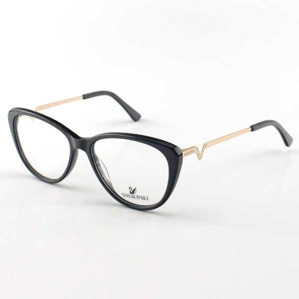 Oculos Armação de Grau Swarovski SK5232 Preto