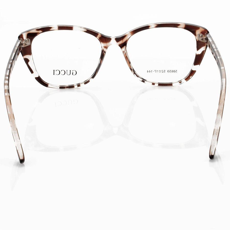 Armação de Óculos Quadrado Gucci GG58659 Onça