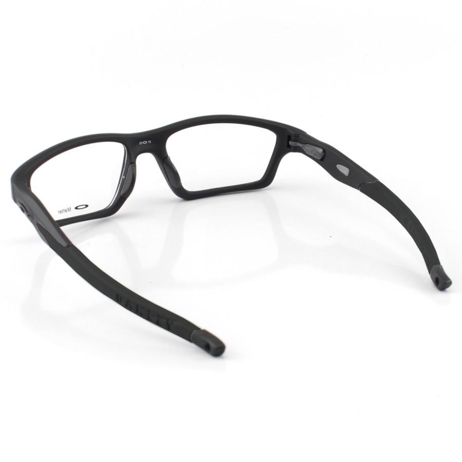 Armacao de Óculos Oakley Crosslink OX8031 Todo Preto