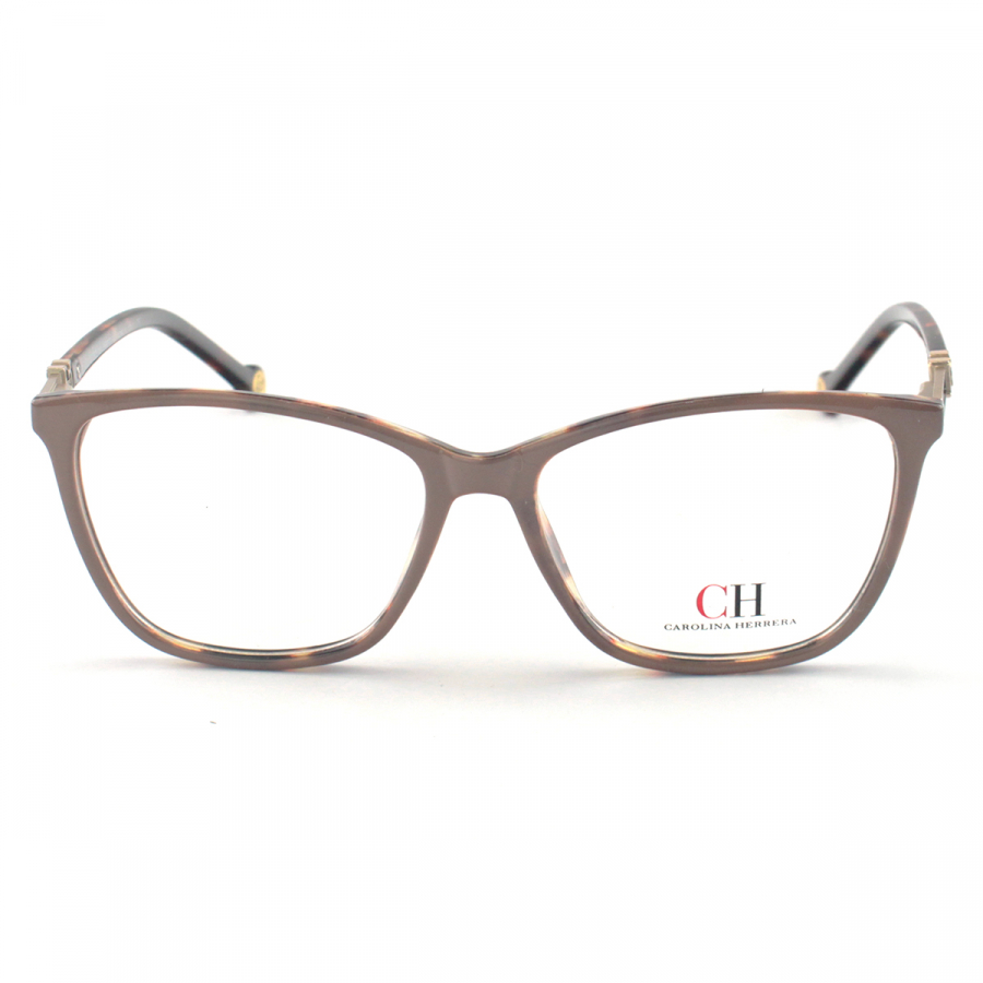 Armacao de Óculos Feminina Carolina Herrera CH639 Nude e Tartaruga