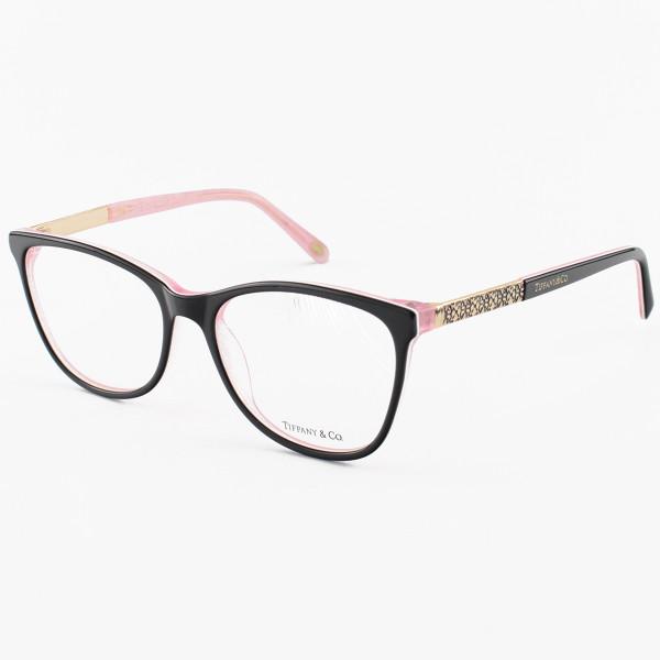 Oculos Armação de Grau - Tiffany & Co. - TF2099 Preto e Rosa
