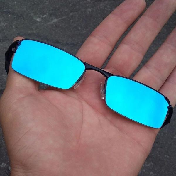 Óculos Oakley Lupinha Lupa Vilão Fio Nylon Mc'S Preta e Azul