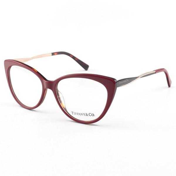 Oculos Armação de Grau - Tiffany & Co Gatinho TF 2136 Vermelho