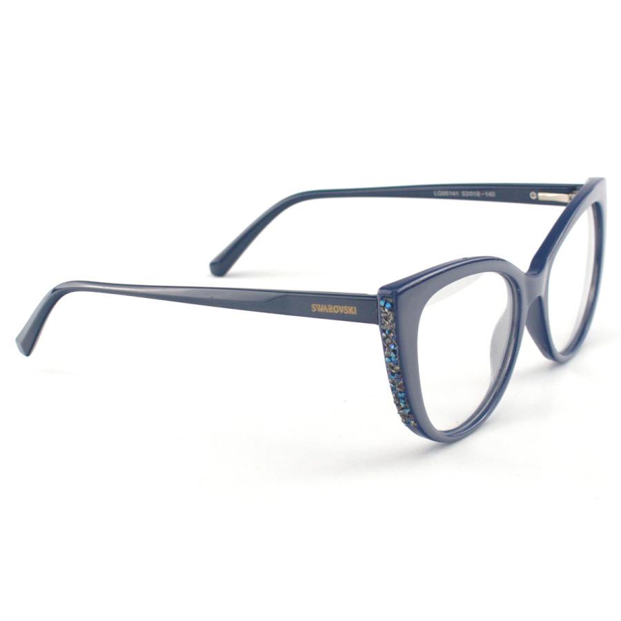Oculos Armação de Grau Swarovski SK5291 Azul