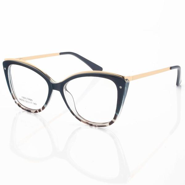 Armação de Óculos Gatinho Bella 68200 Musgo Degrade