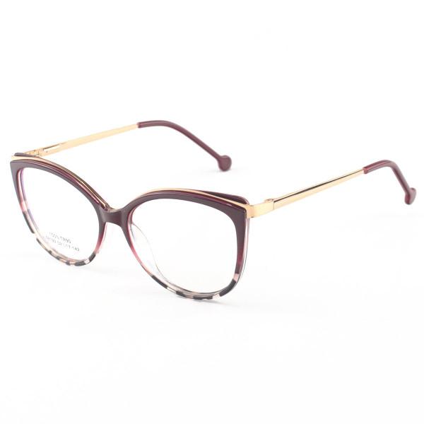 Armação de Óculos Gatinho Alita 68199 Vermelho Degrade
