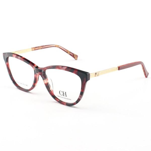 Armação de Óculos Oval Carolina Herrera RO203 Floral