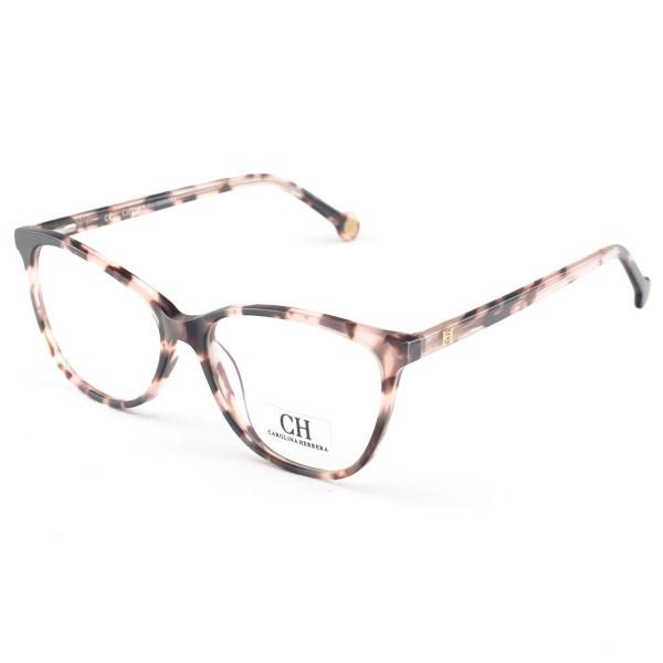 Óculos Armação de Grau Carolina Herrera CH683 Rosa Mesclado