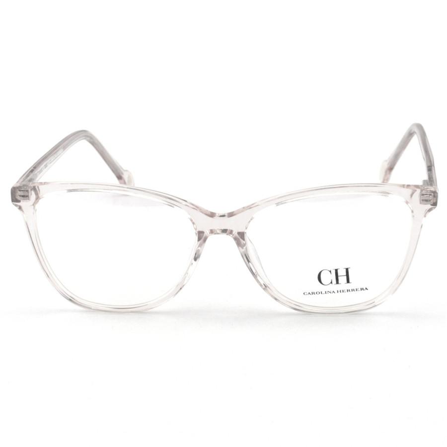 Armação de Óculos Quadrado Carolina Herrera CH659 Transparente