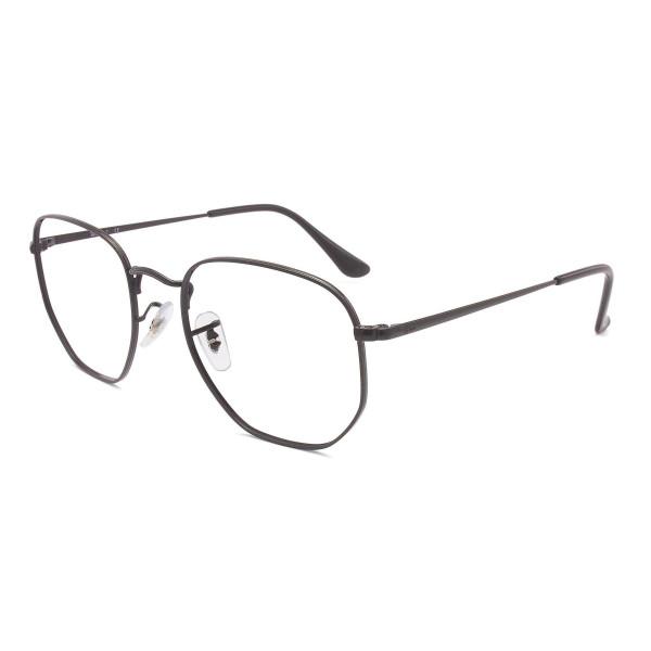 Armação de Óculos Hexagonal Ray-Ban RB3548 Hexagonal Grafite