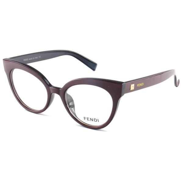 Armacao de Óculos Gatinho Fendi FF2017 Vinho