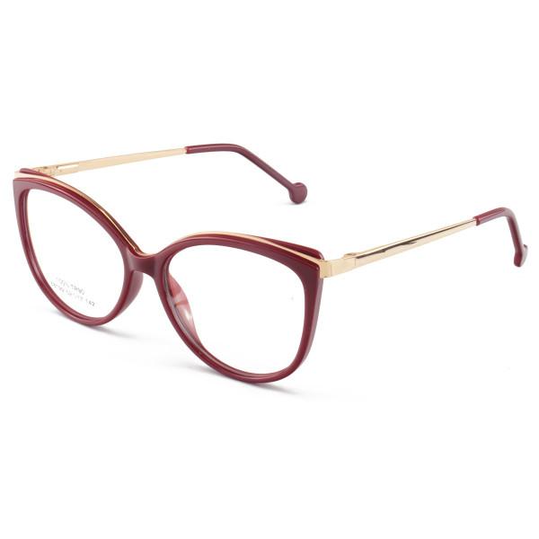 Armação de Óculos Gatinho Alita 68199 Vermelho