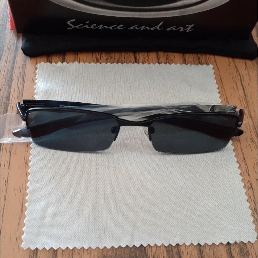 Óculos Oakley Lupinha Lupa Vilão Fio Nylon Preta Lente Fume