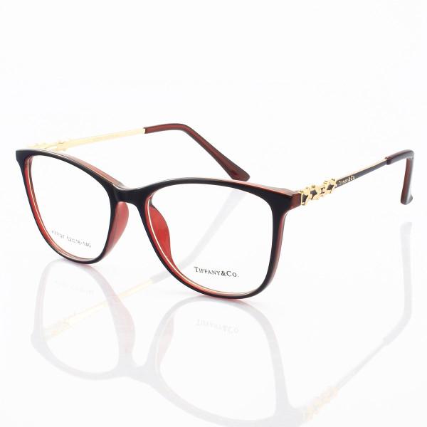 Armação de Óculos Feminino Tiffany & Co. XZ7027 Azul e Vermelho