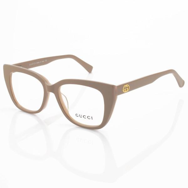 Armação de Óculos Quadrado Gucci GG650 Nude
