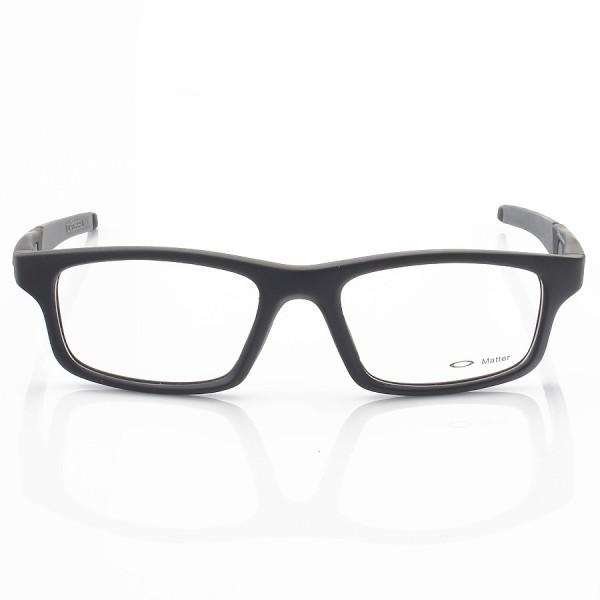 Armacao de Óculos Oakley Crosslink OX8037 Preto e Cinza