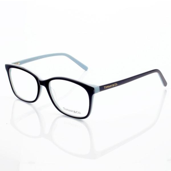 Armacao de Óculos Retangular Tiffany & Co TF2131 Preto e Azul