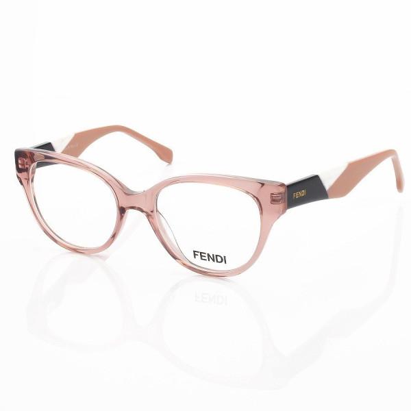 Armação de Óculos Oval Fendi FD3260 Rose
