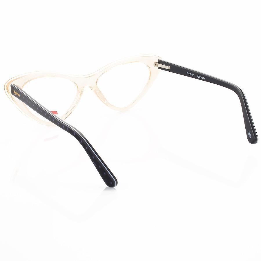 Armação de Óculos Gatinho Supreme SP209 Creme Translucido