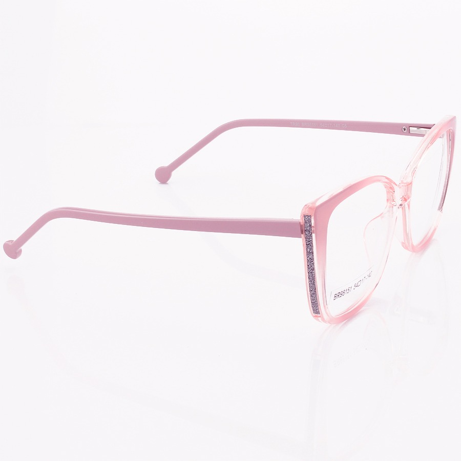 Armação de Óculos Quadrado Swarovski SW58725 Lilas Degrade