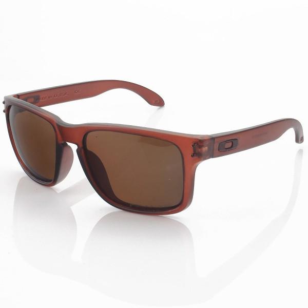 Óculos de Sol Oakley Holbrook Marrom e Lente Marrom